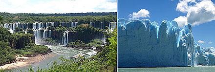 Iguazu Perito Moreno