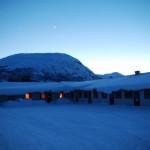 Das Bjorligard-Hotell mit Hausberg