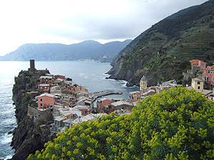 Vernazza, ein Ort der Cinque Terre