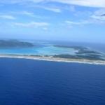 Flughafen von Boara Bora auf einem Motu