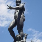 Neptunbrunnen an der Piazza Maggiore