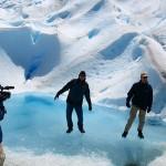 stabile Eis-Lagune