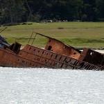 fin del barco - das Ende des Schiffes