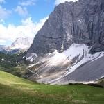 Weg von der Falkenhütte zum Hohljoch