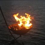grillen an Bord