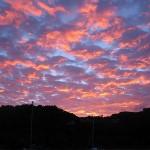 Sonnenuntergang auf Mustique