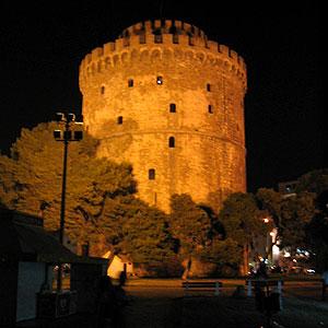 Der weiße Turm in Thessaloniki