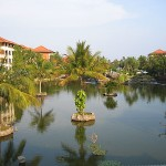 Garten im Bali Hilton