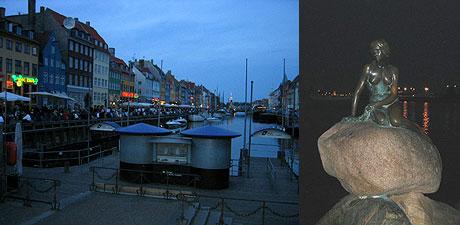 Kopenhagen: Nyhavn und kleine Meerjungfrau