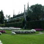 Isola Bella: Garten mit Pfau