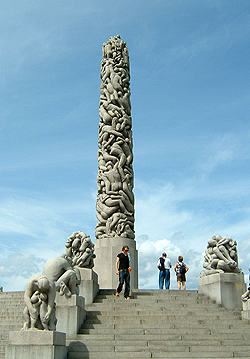 Monolith im Vondelspark