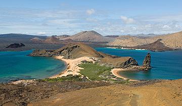 Sullivan Bay auf der Insel Bartolomé, Galapagos