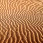 """""""Sandspuren"""" der Wüsteninsel"""