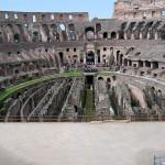 Kolosseum: Untergeschoss im Überblick