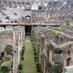 Kolosseum Untergrund