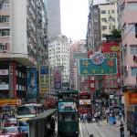 Hongkong City Doppeldecker-Tram