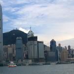 Hongkong Skyline mit Victoria Peak
