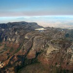 Tafelberg von oben