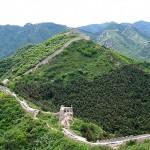 Chinesische Mauer: Teilpanorama