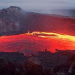 Lavasee im Kilauea Vulkan