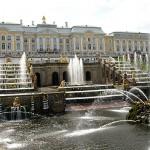 Peterhof: Große Kaskade