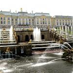 Peterhof: großer Palast