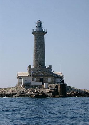 Leuchturm Porer in Istrien