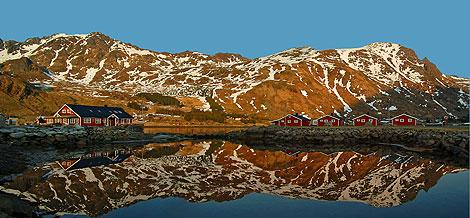 Henningsvaer auf den Lofoten