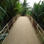 schmale Mekong Überquerung