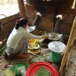 Küche im Mekong-Delta