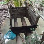 Toilette im Mekong-Delta