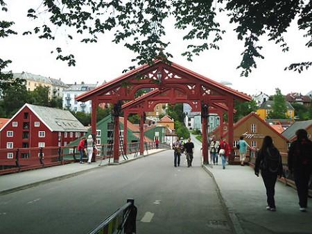 Holzbrücke Gamle Bybro