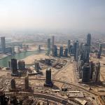 Viel Platz in Dubai für weitere Baustellen