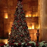 Christbaum im Trump Tower