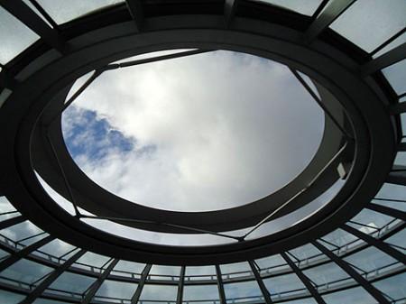 offene Reichstagskuppel
