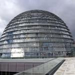 Reichstagskuppel auf der Dachterrasse