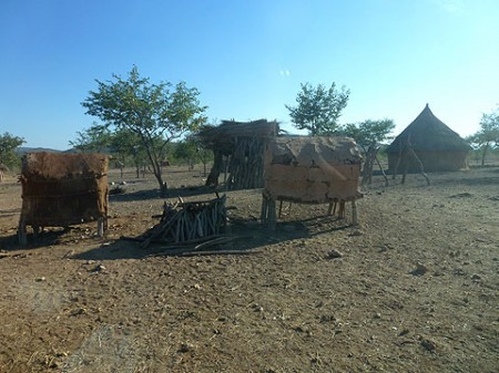 Himba Dorf