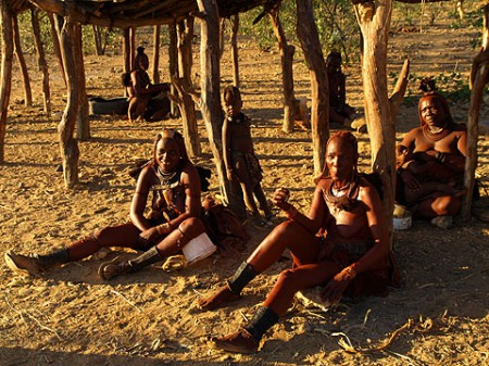 Himba Frauen