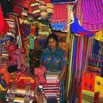 Guatemala: farbenfroher Markt