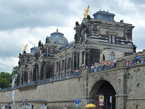 Gute Reise Blog Archive Bruhlsche Terrasse In Dresden