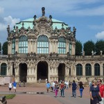 Dresdner Zwinger Wallpavillion