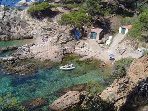 Goldene Küste Bucht