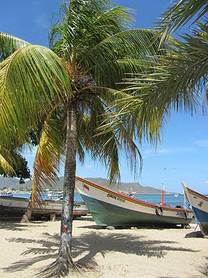 Strand in Venezuela
