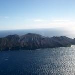 Anflug auf White Island