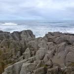 Pancake Rocks am Meer