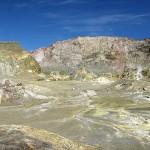 White Island's tolle Farben