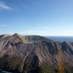 White Island aus der Vogelperspektive