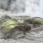 vulkanisches Farbspiel