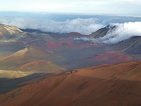 Haleakala Mondlandschaft