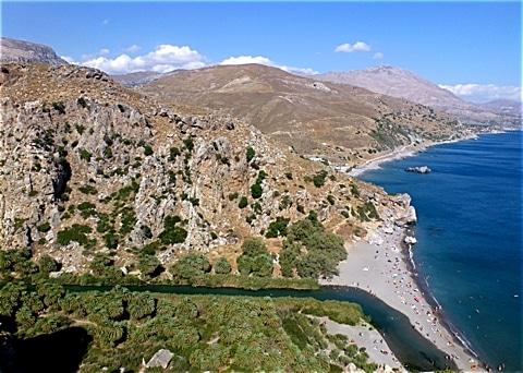 Preveli im Süden von Kreta